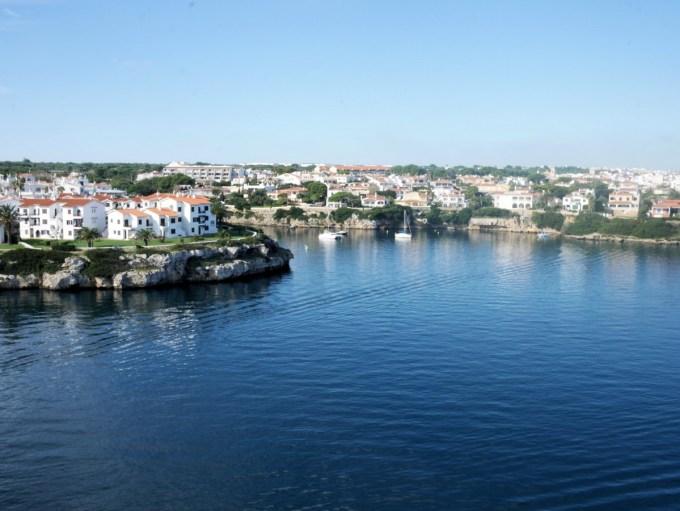 Sailing into Mallorca