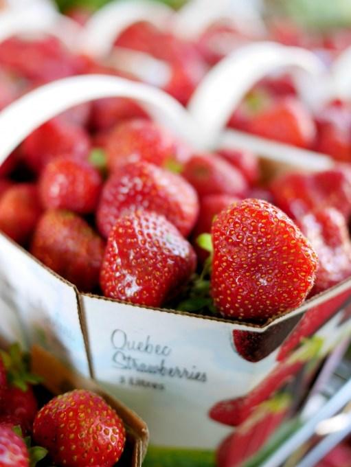 Strawberries Jean Talon Market