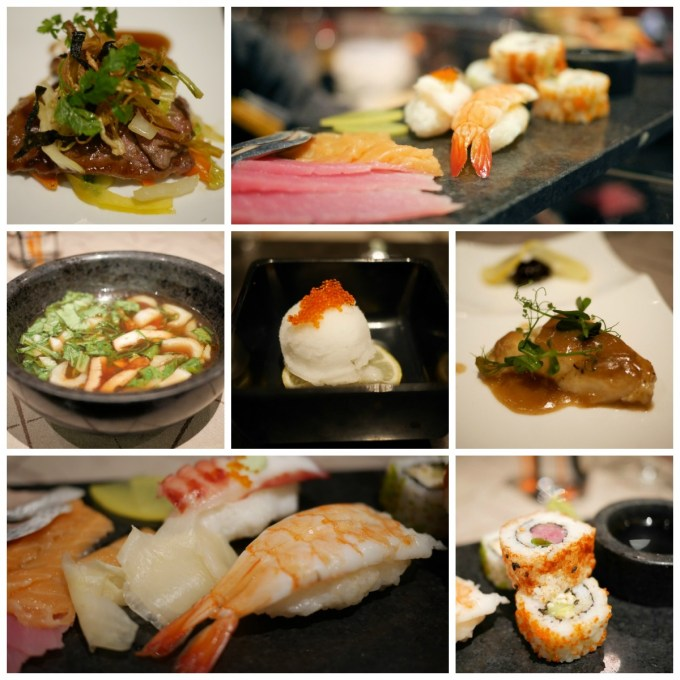 Seishin Restaurant Innovative Asian fusion cuisine, Kobe beef and spider lobster vie for the attention of your tastebuds in this cosy, stylish venue aboard this luxury cruise ship. Seishin features a large, round chef's table as its centrepiece.
