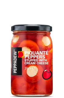 Peppadew® Piquanté Peppers stuffed with cheese