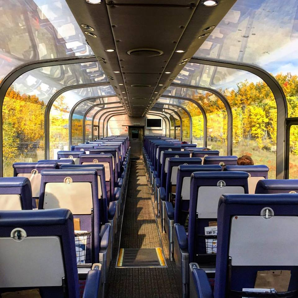 Toronto to Vancouver by Train with The Canadian - Lavender and Lovage