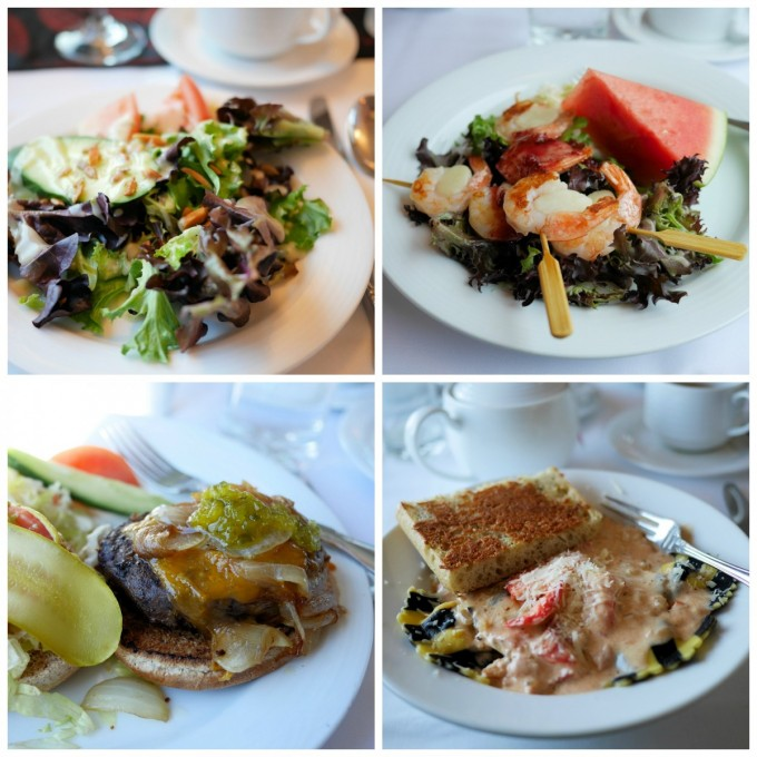 Luncheon Dishes on The Canadian