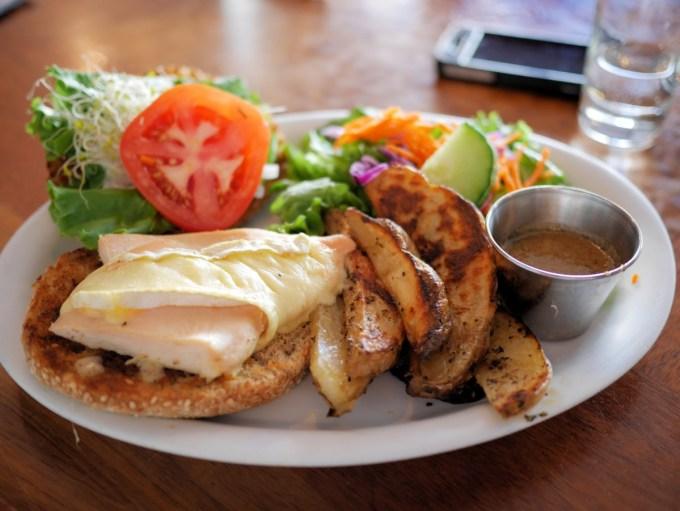 Lunch at Le Cafetier de Sutton