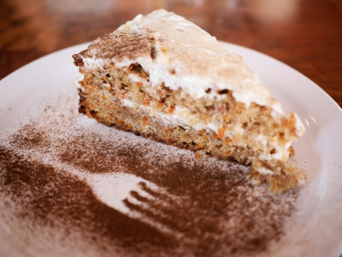 Frosted Carrot Cake at Le Cafetier de Sutton