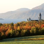 Canada, Quebec Province, Estrie Region, Saint Benoit du Lac, Benedictine Abbey founded in 1912