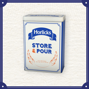 Horlicks Storage Tin