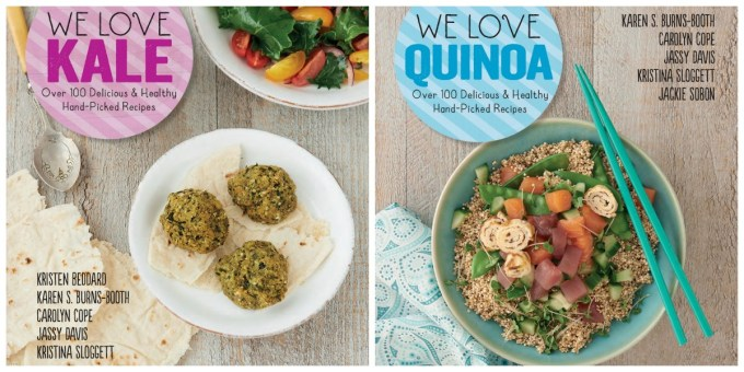 WE Love Kale and We Love Quinoa