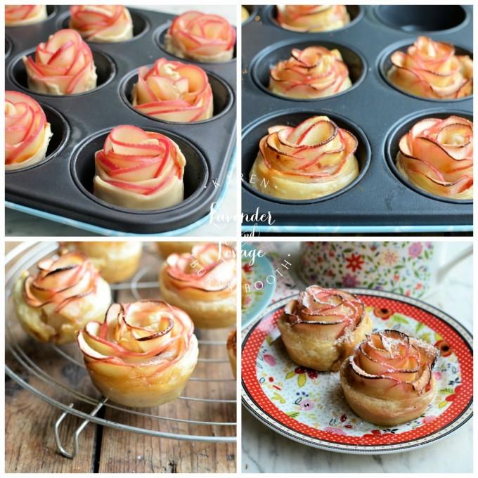 Baking Apple Rose Tarts