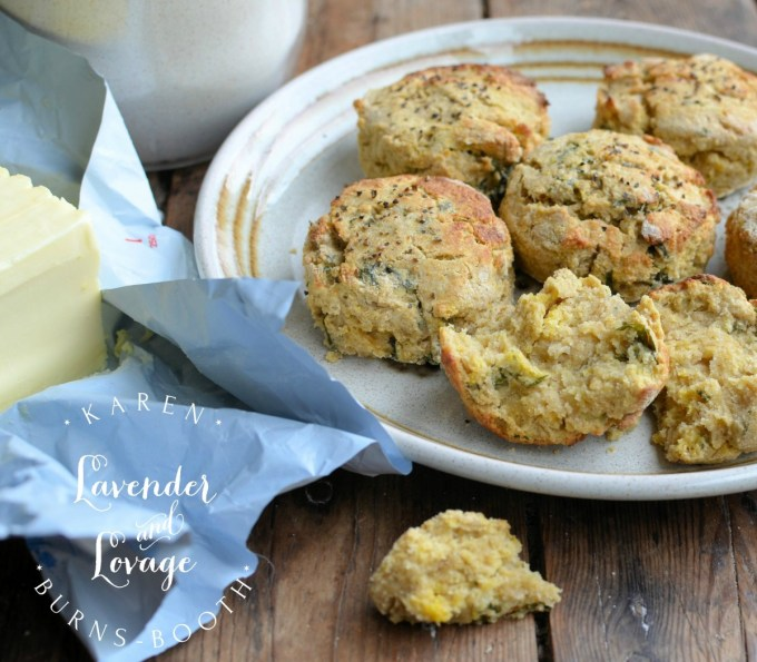 Beremeal and Seaweed Scones