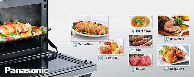 Panasonic Steam Combination Microwave