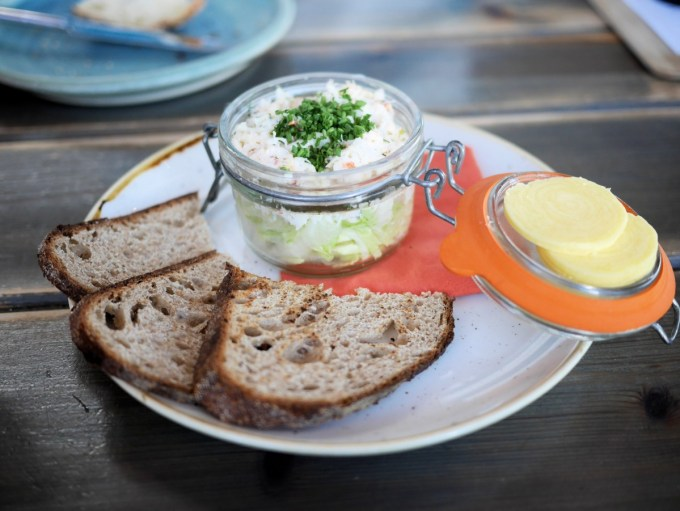 Potted Crab Salad at Harry's Shack