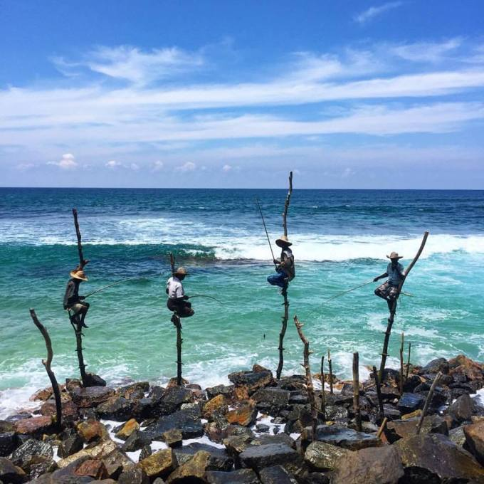 Stilt Fisherman at Weligama