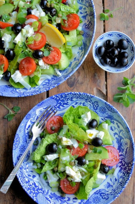 A Classic Greek Salad Recipe