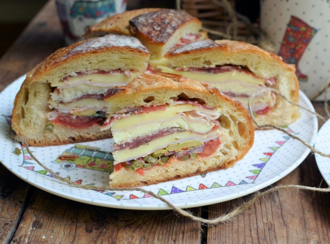 How to make a Muffuletta