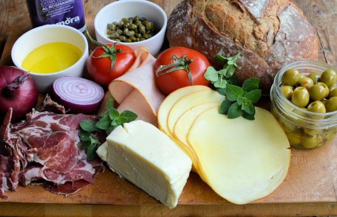 Muffuletta Ingredients