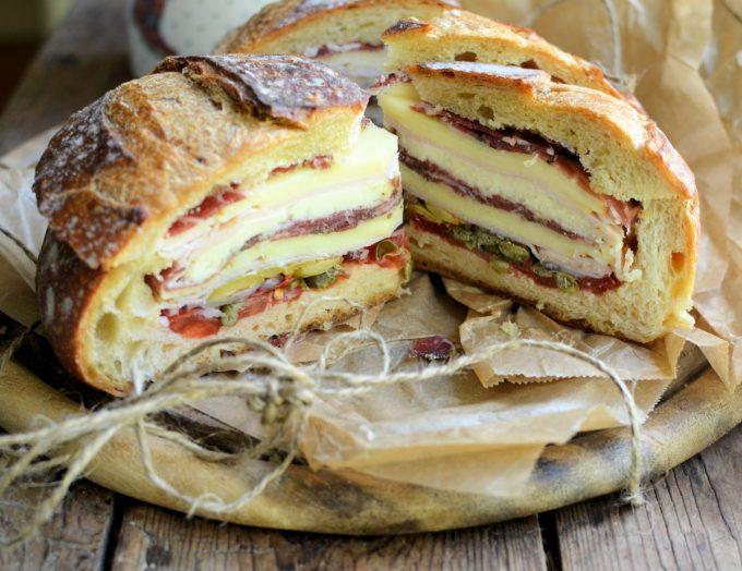 The New Orleans Muffuletta Sandwich