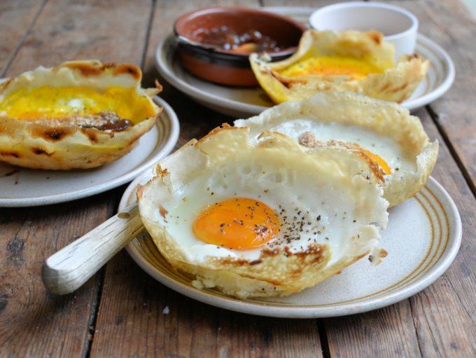 Sri Lankan Egg Hoppers for Breakfast