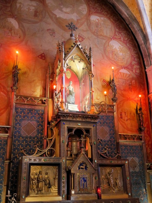 The Black Madonna in Notre Dame at Rocamadour