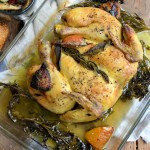 """Scarborough Fair"" Spatchcock Roast Chicken"
