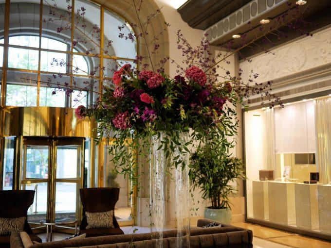 Fairmont Vancouver Hotel Lobby