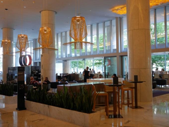 Lobby Lounge Fairmont Pacific Rim