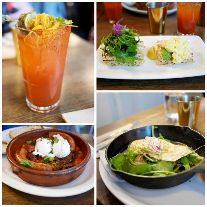 Brunch at Medina Cafe