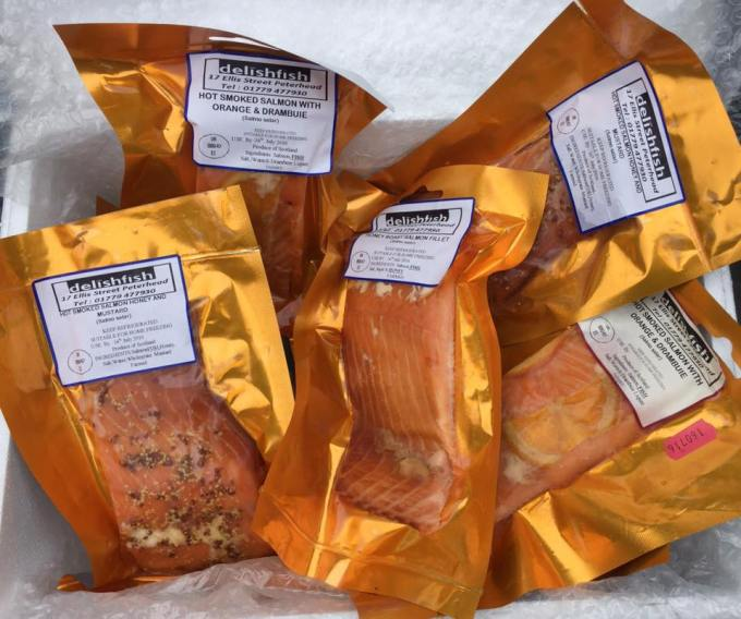 Delish Fish Hot Smoked Salmon
