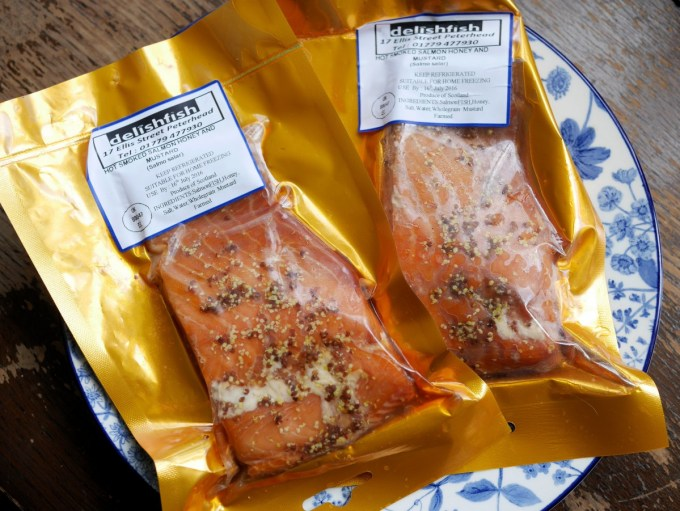Limited Edition Mustard Hot Smoked Salmon
