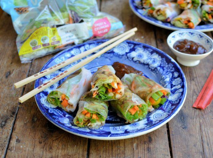 Hoisin Sauce Vietnamese Summer Rolls