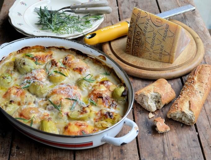 Grana Padano Chicken & Artichoke Gratin