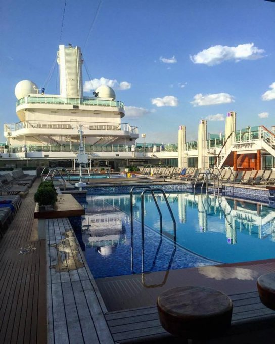 Lido Pool in the Morning