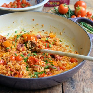Smoky Spanish Rice