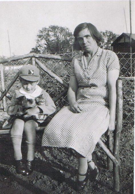 Norman Burns with Ellen Burns