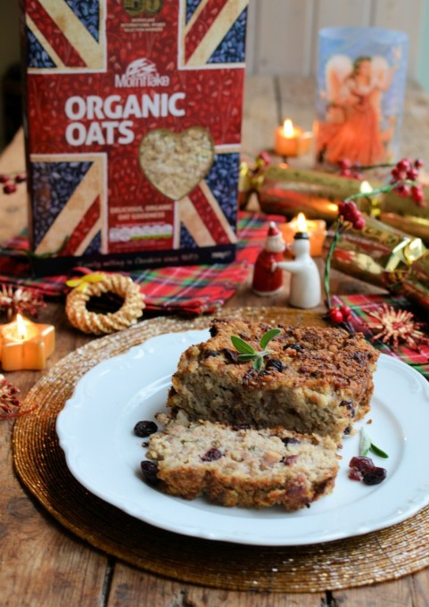 """Festive Sausage, Cranberry, Sage and Onion Oat Stuffing"""