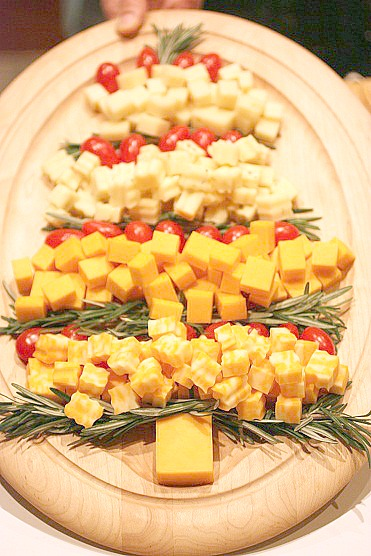 Christmas Cheese Platter.Cheese Platter Christmas Tree Lavender And Lovage