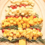 cheese christmas tree