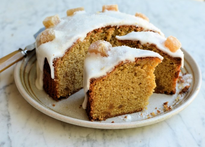 Frosted Ginger Cake