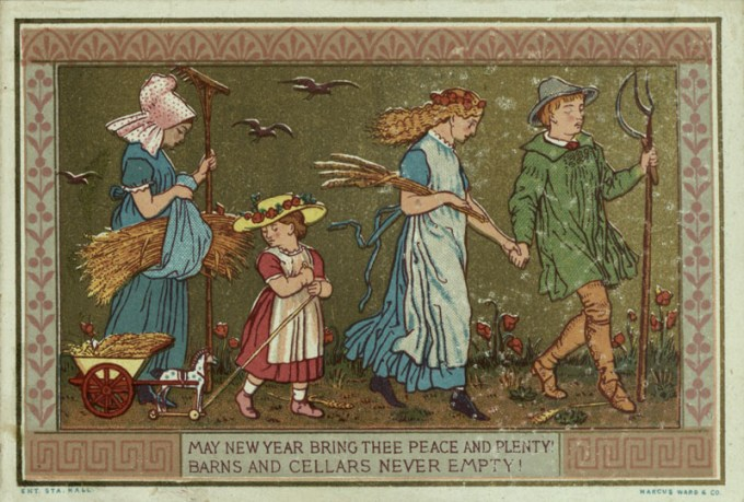 May New Year Bring Thee Peace And Plenty