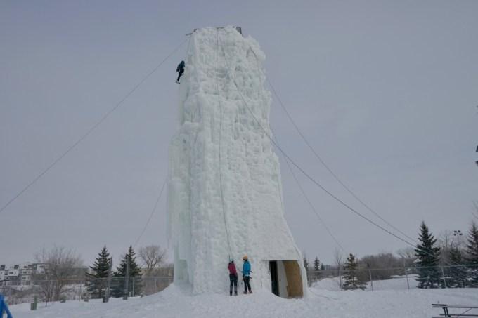 Climbing the Ice Tower: Image Winnipeg Tourism