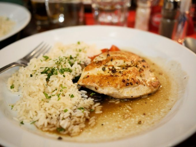 Grilled Chicken and Rice