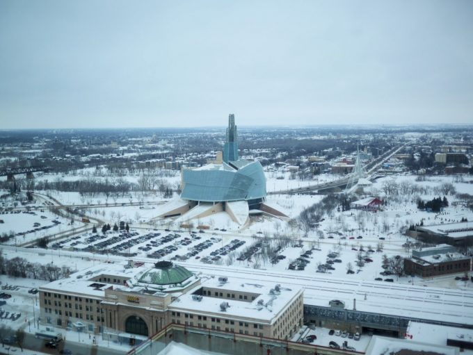 Union Station and the Canadian Museum of Human Rights