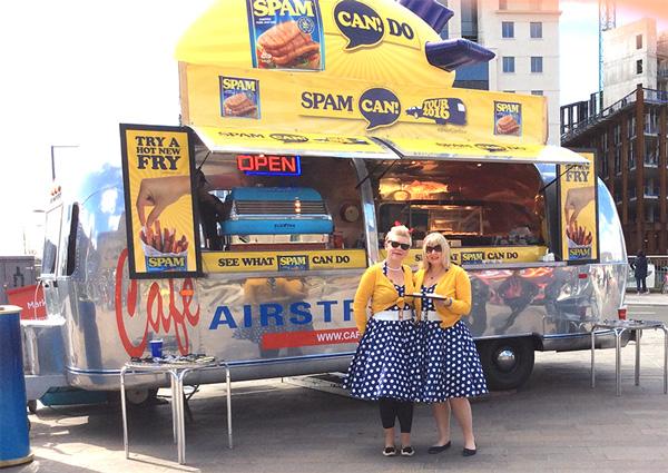 Airstream Spam Tour