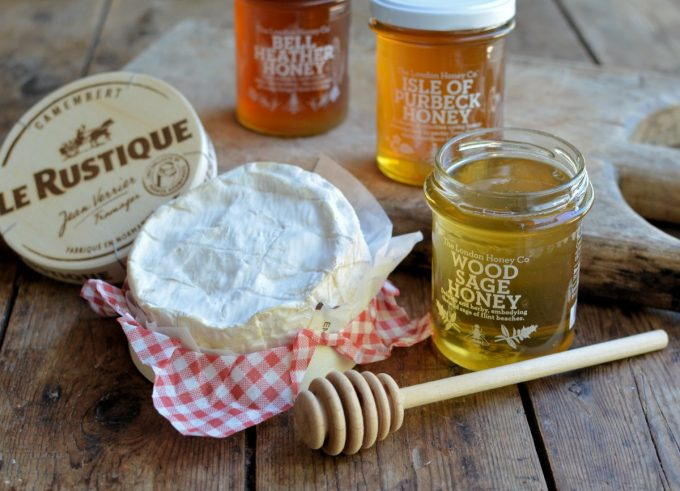 French Cheese and English Honey