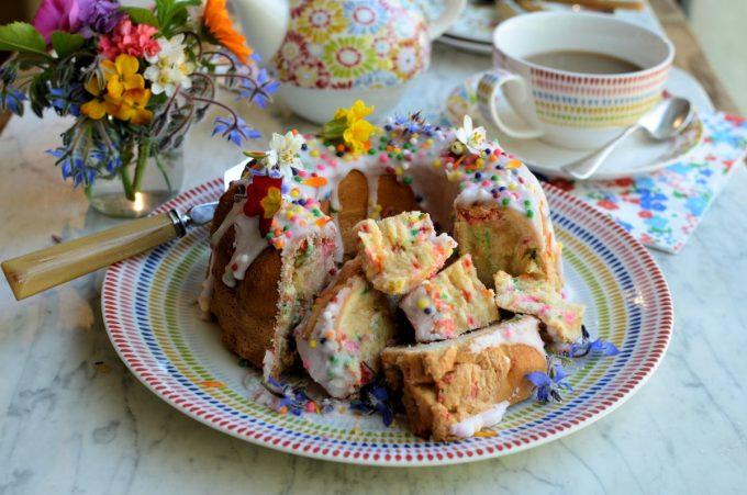 Funfetti Chiffon Cake