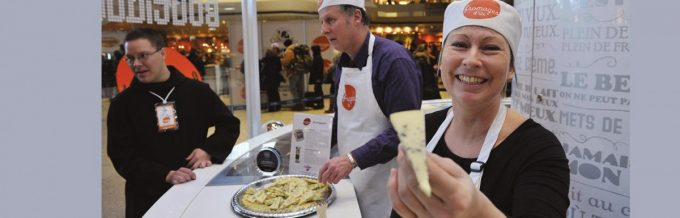 Festival of our cheese Complexe Desjardins, 150, Ste-Catherine West The event is back for an 11th edition at the complexe Desjardins Grande-Place, from Thursday, February 23, to Saturday, February 25, 2017