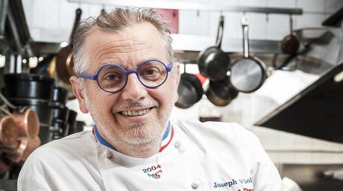 guest Lyon chef Joseph Viola