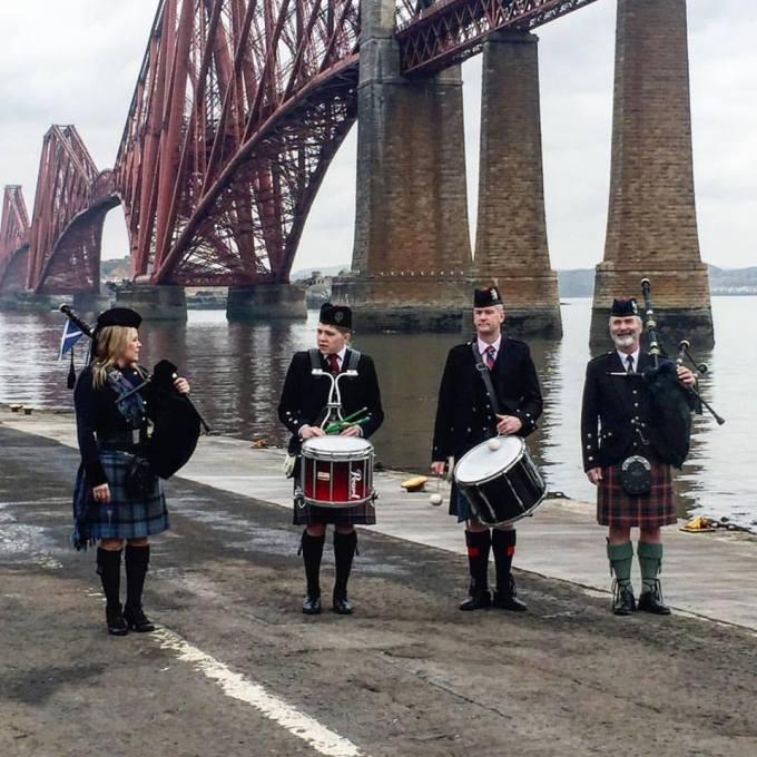 A Scottish Welcome at Edinburgh