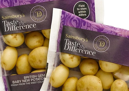 Taste the Difference British Gems Baby New Potatoes