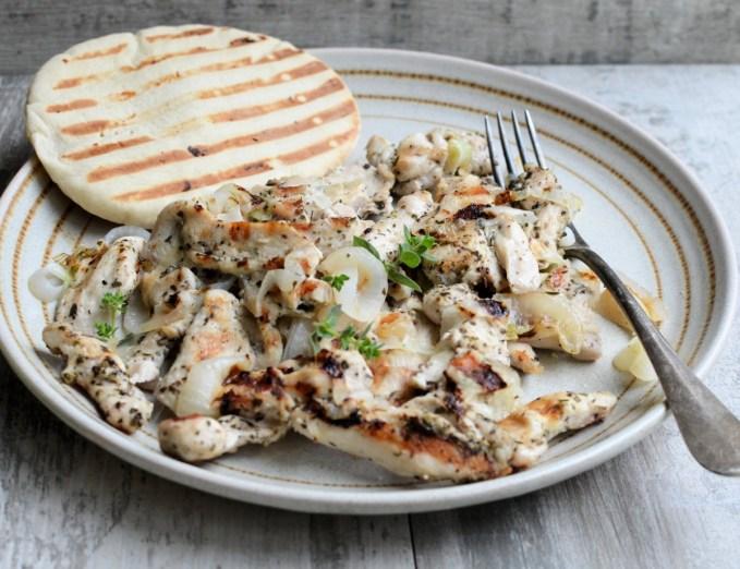 Easy Chicken Döner Kebab