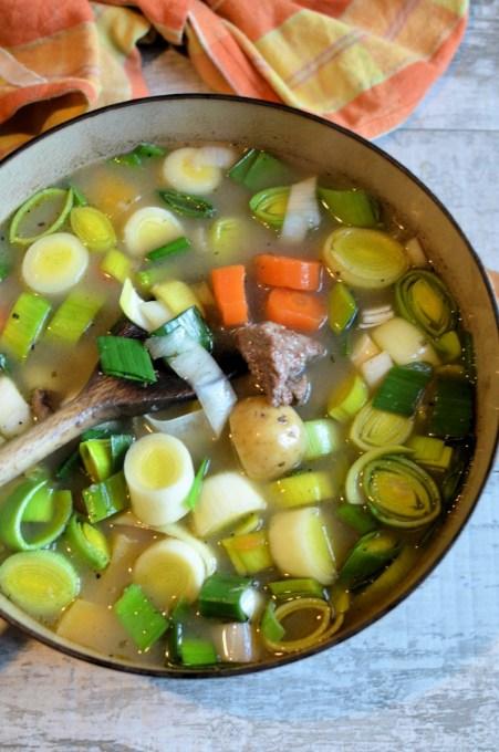 Welsh Cawl (Lamb & Vegetable Stew)
